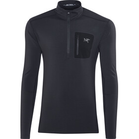 Arc'teryx Rho LT Camiseta Cremallera Hombre, black